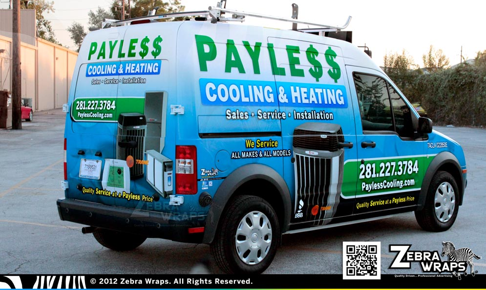 PaylessCooling_Transit_Ford_ZebraWraps_HoustonWraps_Pass