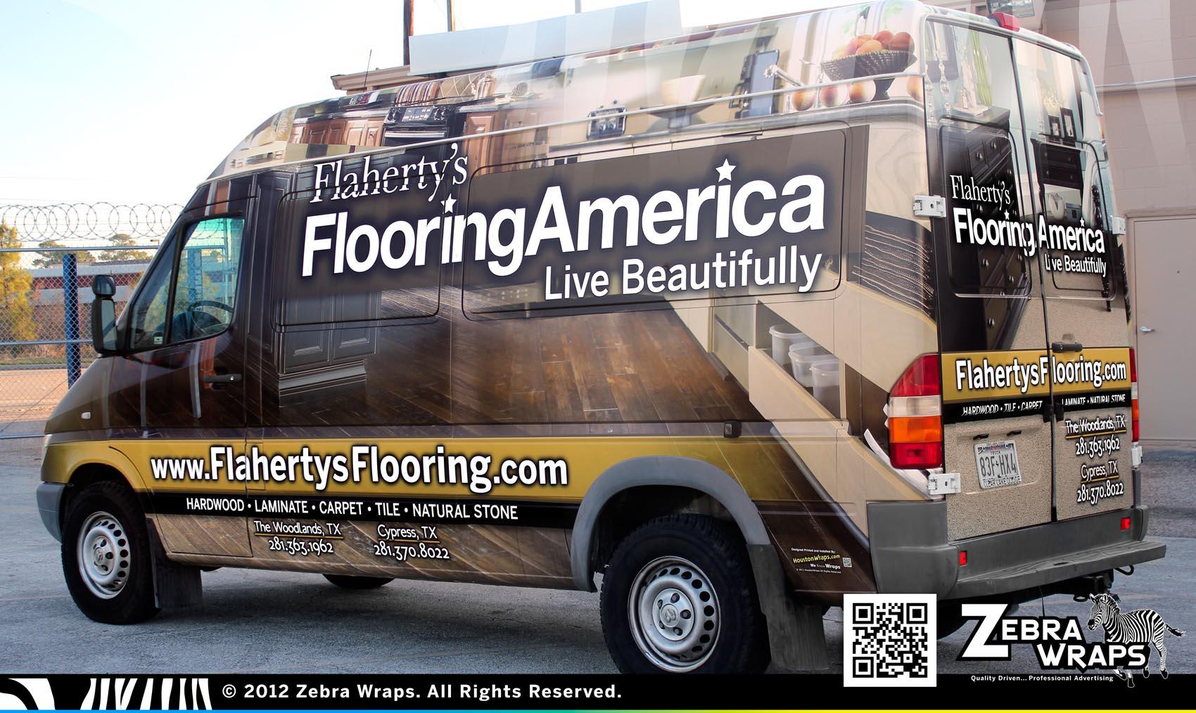May 2012 zebra wraps houston wraps vehicle wrap blog for Flooring america