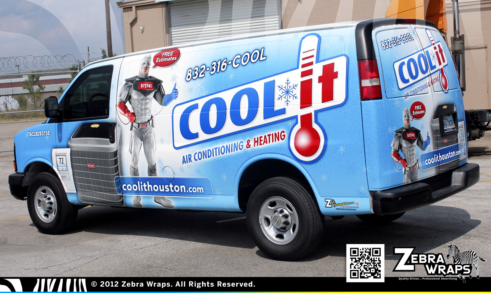 Cool It – Air Conditioning Heating Wraps – Zebra Wrap – Houston ... 18d2a0071